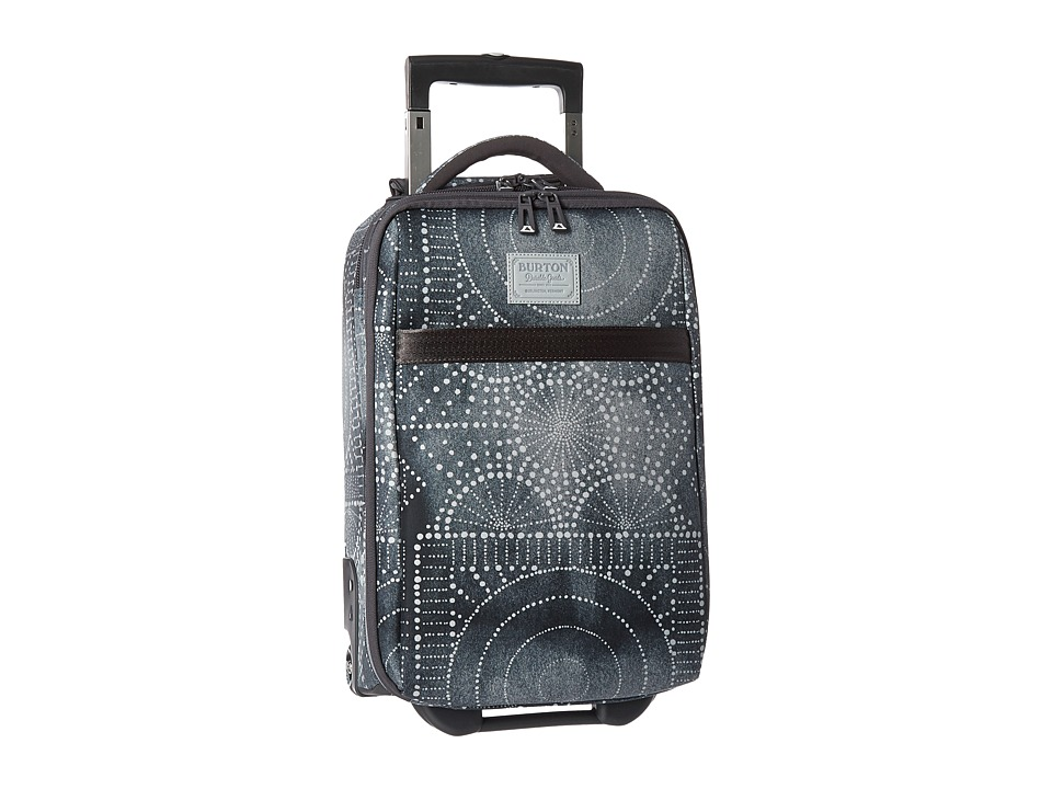 Burton Wheelie Flyer Travel Luggage (Bandotta Print) Luggage
