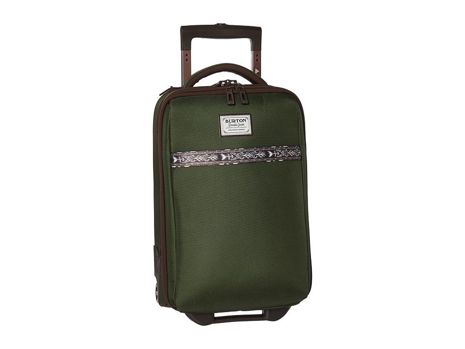 Burton Wheelie Flyer Travel Luggage (Rifle Green) Luggage
