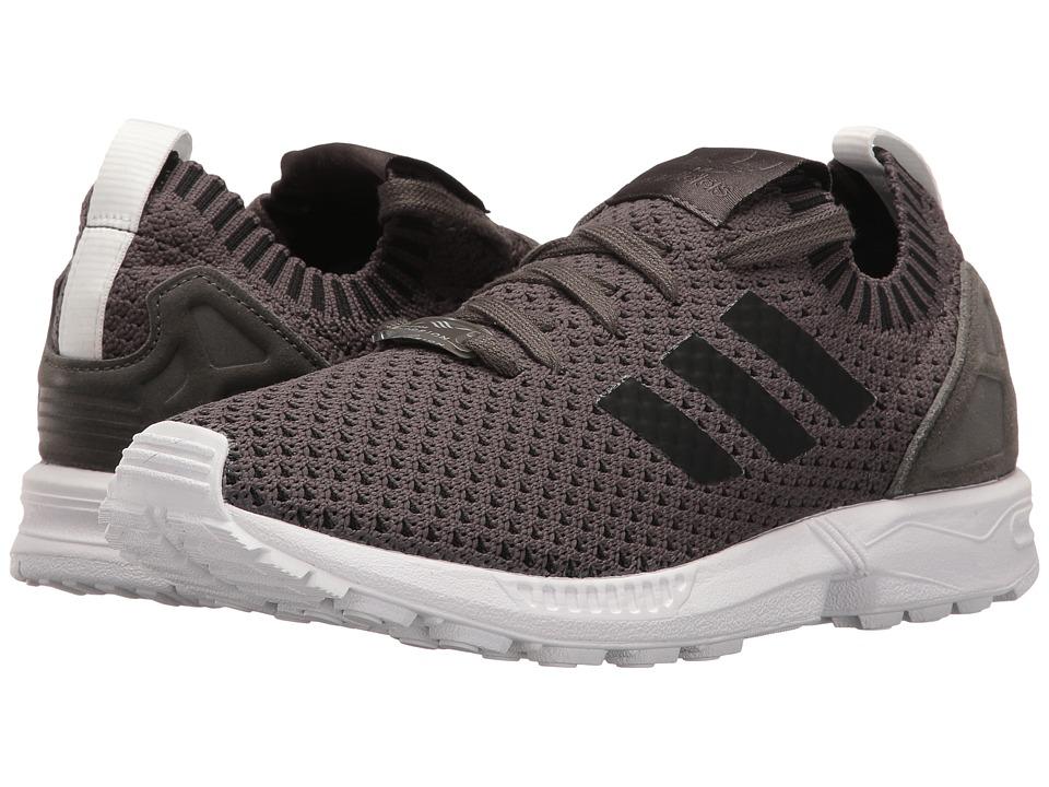 adidas Originals ZX Flux Primeknit (Utility Grey/Utility Grey/Footwear White) Women
