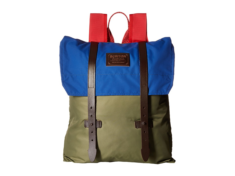 Burton Taylor Pack (Lichen Flight Satin) Backpack Bags