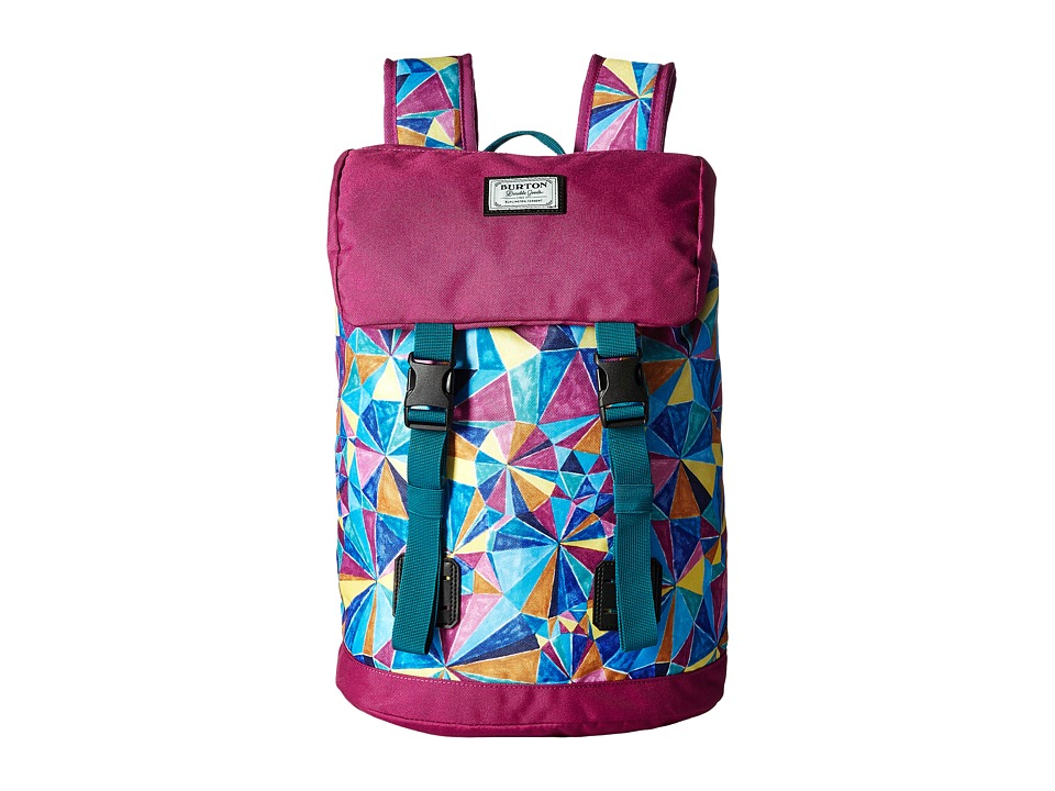 Burton Tinder Backpack (Little Kid/Big Kid) (Polka Diamond Print) Backpack Bags