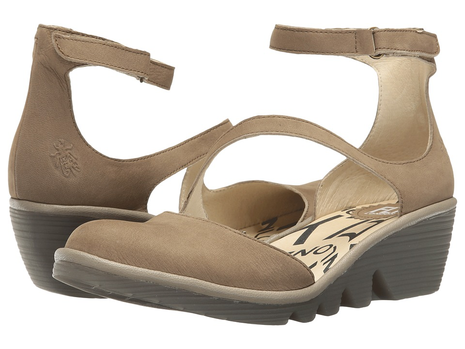 Fly London Plan717Fly (Taupe/Mushroom Cupido/Mousse) Wome...