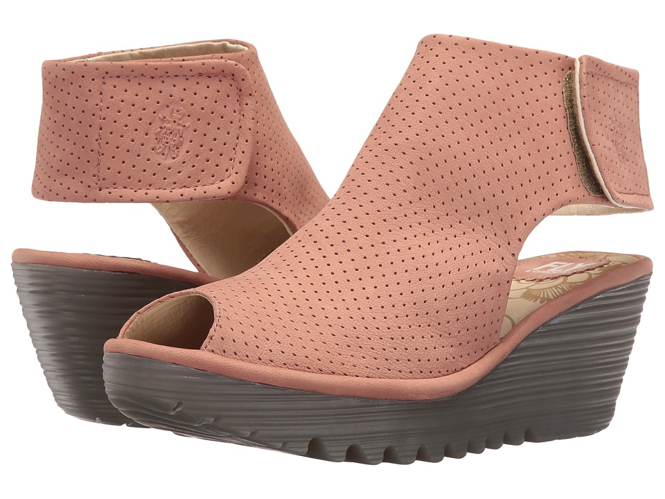 Fly London Yahl700Fly (Rose Cupido) Women's Shoes