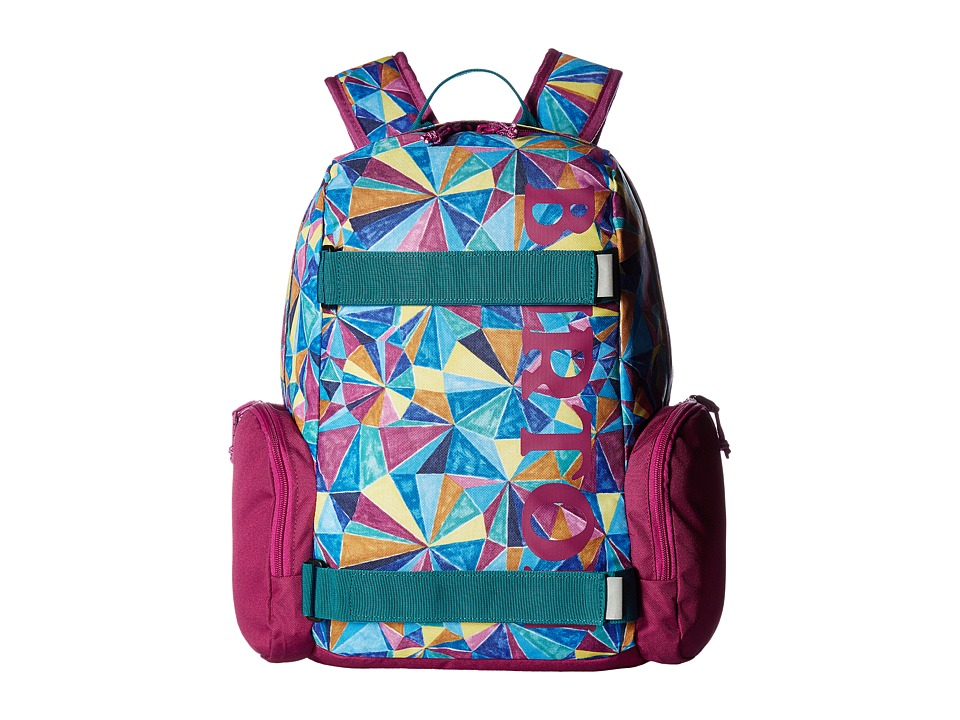Burton Emphasis Pack (Little Kid/Big Kid) (Polka Diamond Print) Backpack Bags