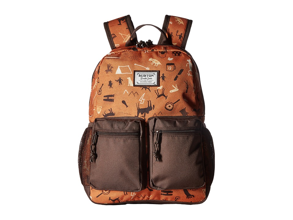 Burton - Gromlet Pack (Little Kid/Big Kid) (Caveman Print) Backpack Bags