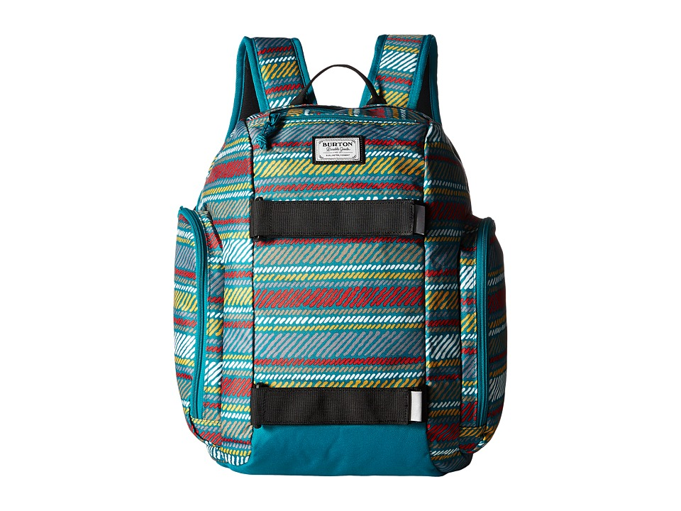 Burton Metalhead Backpack (Little Kid/Big Kid) (Paint Stripe Print) Backpack Bags