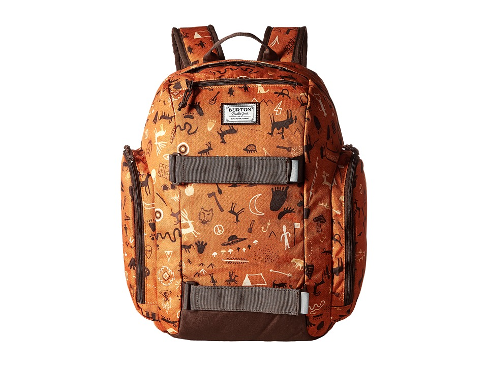 Burton Metalhead Backpack (Little Kid/Big Kid) (Caveman Print) Backpack Bags