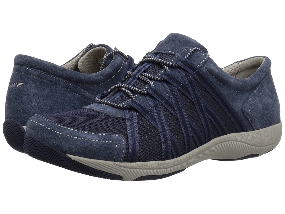 Dansko Honor (Blue Suede) Women's  Shoes