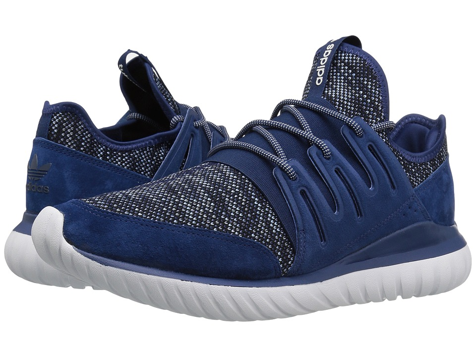 adidas Originals Tubular Radial Knit (Mystery Blue/Tactilce Blue/Core Black) Men