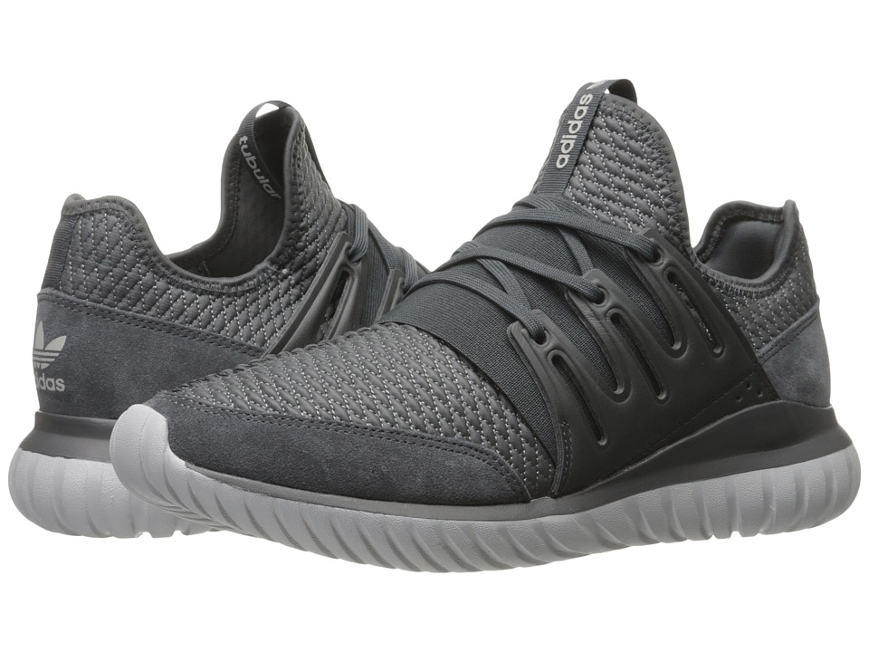 adidas Originals Tubular Radial (Dark Grey Heather Solid Grey/Dark Grey Heather Solid Grey/Medium) Men