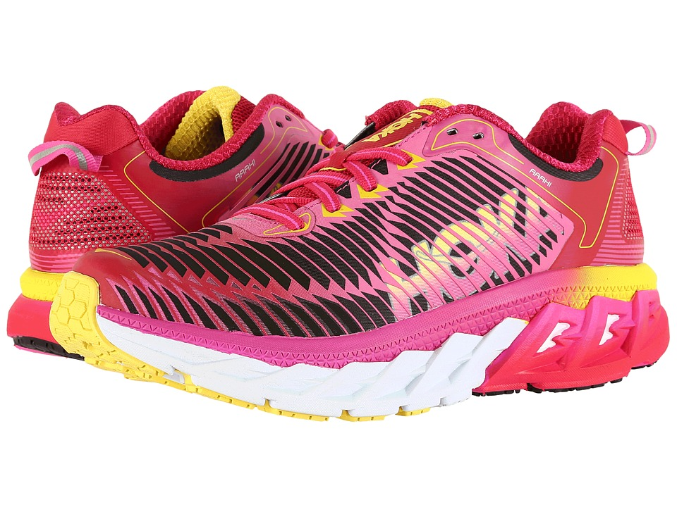 Hoka One One Arahi (Virtual Pink/Neon Fuchsia) Women