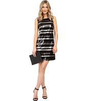 Laundry by Shelli Segal - Stripe Sequin Dress
