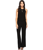 Laundry by Shelli Segal - Sleeveless Jumpsuit with Trim Details
