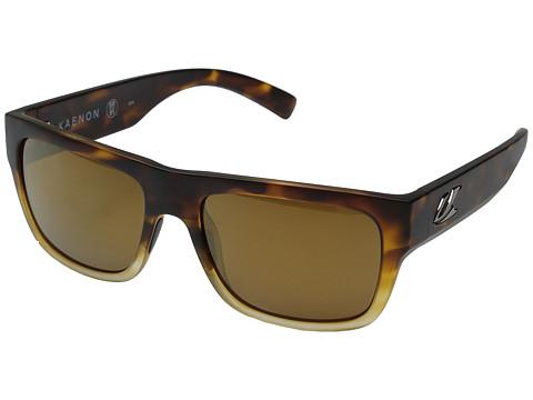 Kaenon Montecito - Matte Tortoise Fade/Brown 12 Polarized Gold Mirror
