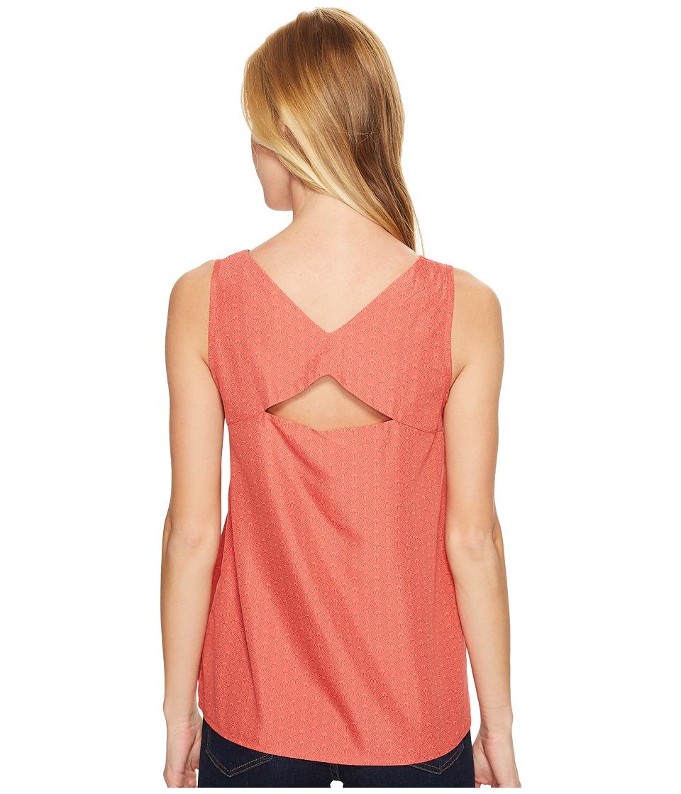 Mountain Khakis - Hailey Tank Top (Rojo) Womens Sleeveless