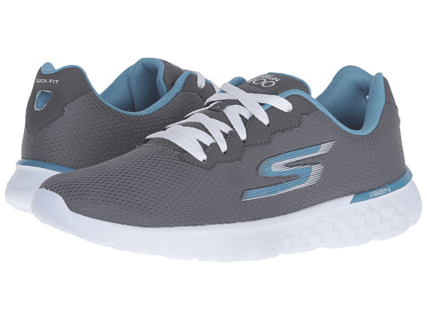 SKECHERS Go Run 400 - Action - Charcoal/Blue
