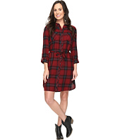 Stetson - Garnet Plaid Western Shirtdress