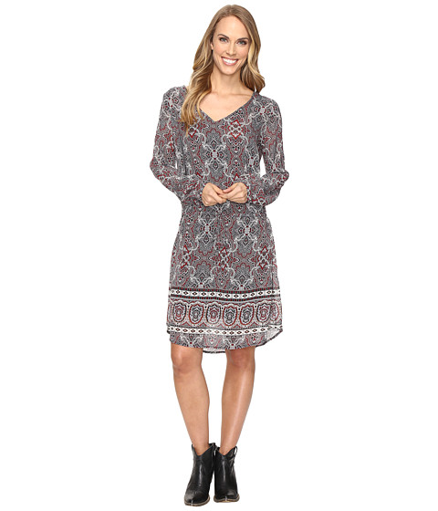 Stetson Gypsy Border Chiffon Dress