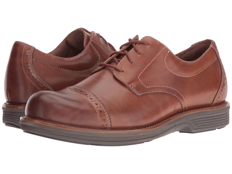 Dansko Justin (Saddle Antique Calf) Men's  Shoes