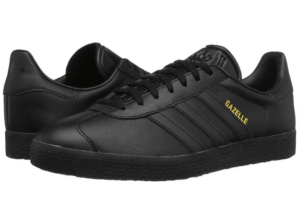 Adidas Originals - Gazelle Tonal Leather (Core Black/Core...
