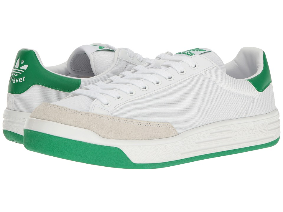 adidas Originals Rod Laver Super (Footwear White/Footwear White/Green) Men