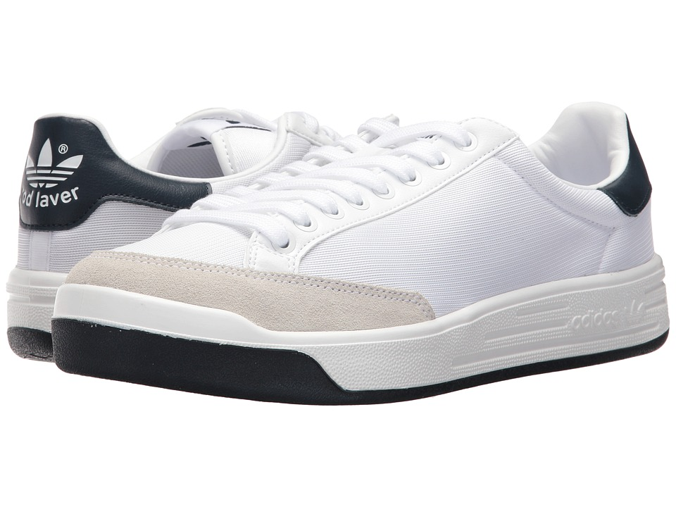 adidas Originals Rod Laver Super (Footwear White/Footwear White/Collegiate Navy) Men