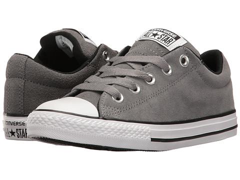 Converse Kids Chuck Taylor All Star Street Slip (Little Kid/Big Kid) - Mason/Black/White