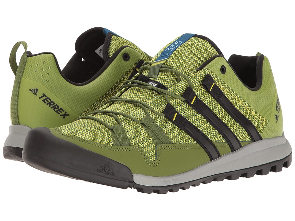 adidas Outdoor - Terrex Solo (Unity Lime/Black/Core Blue) Mens Climbing Shoes