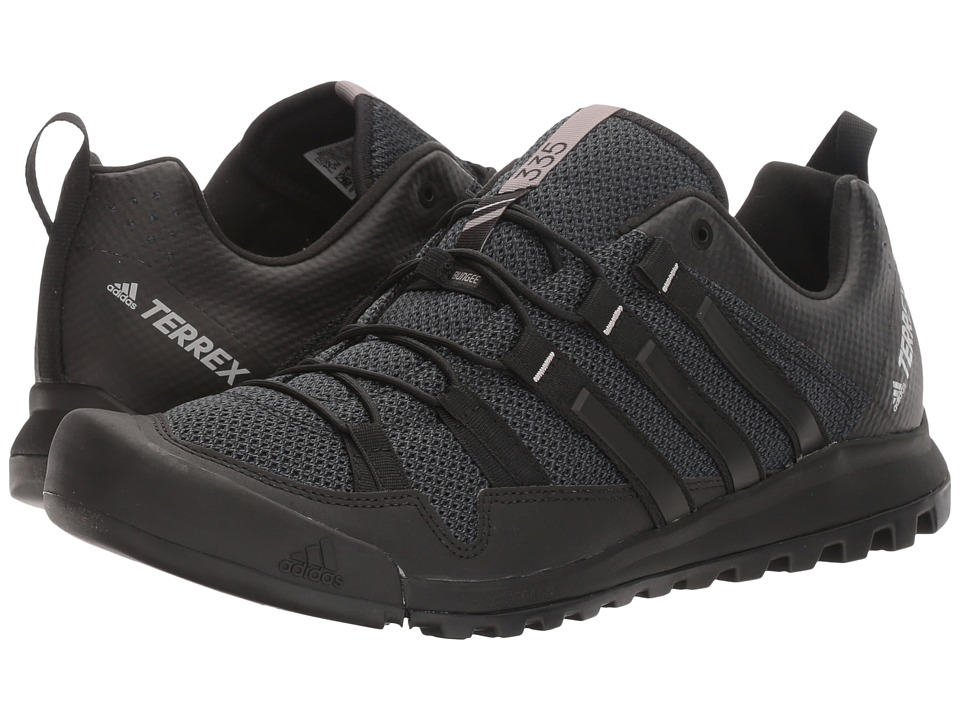 adidas Outdoor - Terrex Solo (Dark Grey/Black/Charcoal Solid Grey) Mens Climbing Shoes