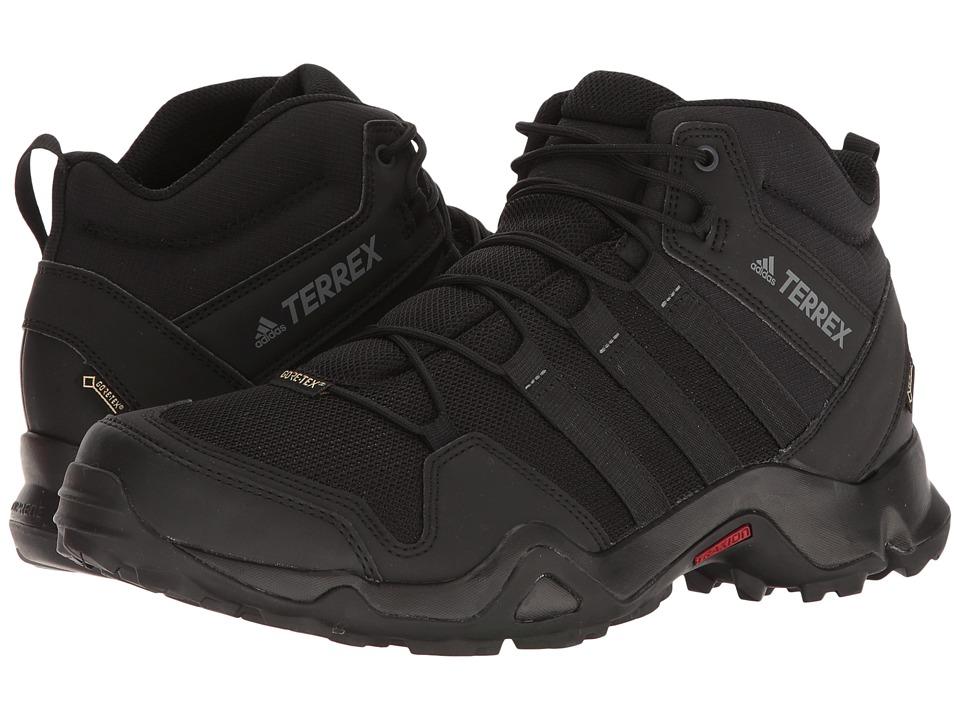 adidas Outdoor Terrex AX2R Mid GTX (Black/Black/Vista Grey) Men