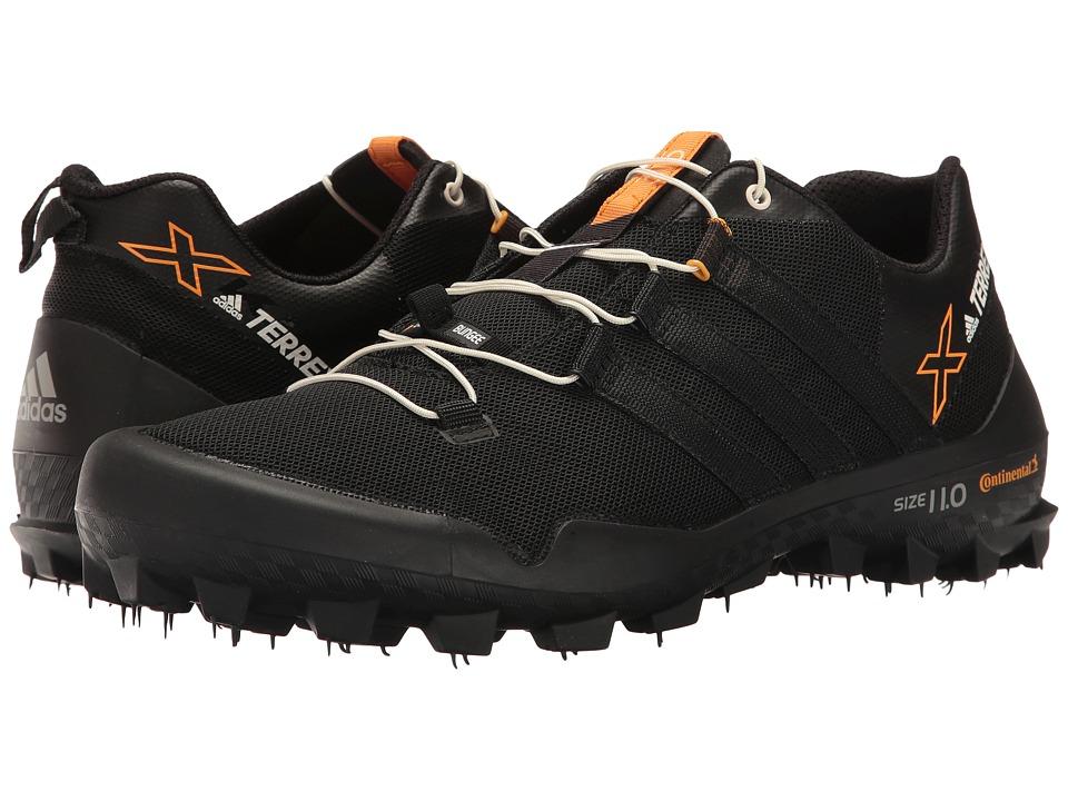 Adidas Outdoor - Terrex X-King (Black/Black/Chalk White) ...