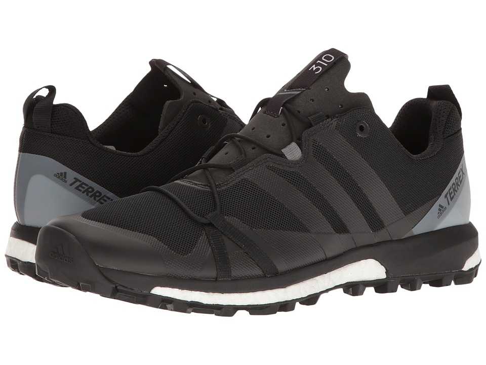 adidas Outdoor - Terrex Agravic (Black/Black/Vista Grey) Mens Shoes