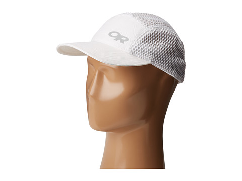 Outdoor Research Mesh Running Hat - White