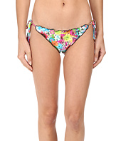 Luli Fama - Paraiso Crystallized Wavey Ruched Back Brazilian Tie Side Bottom
