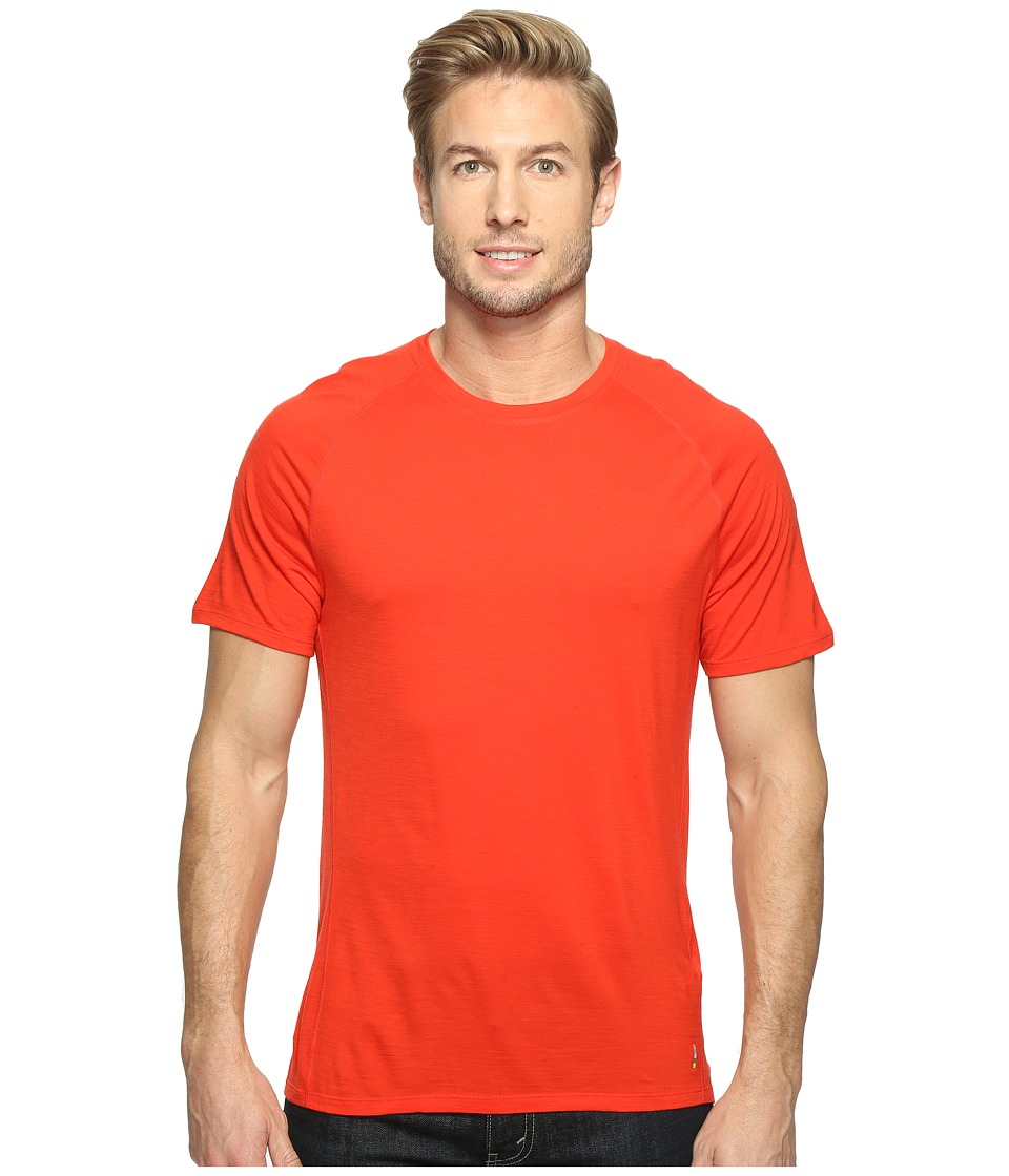 Smartwool Merino 150 Baselayer Short Sleeve (Fire Red) Men