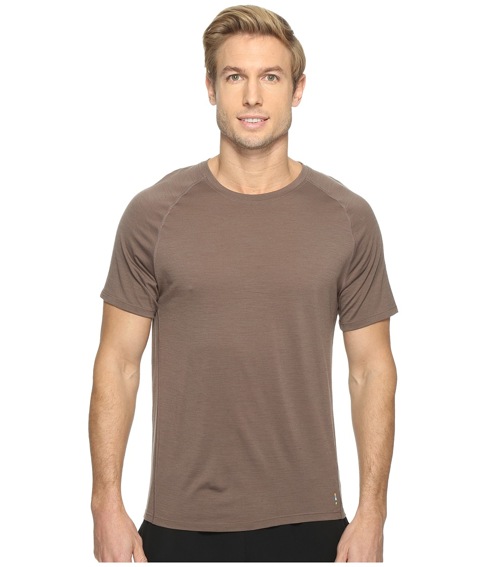 Smartwool Merino 150 Baselayer Pattern Short Sleeve (Taupe) Men