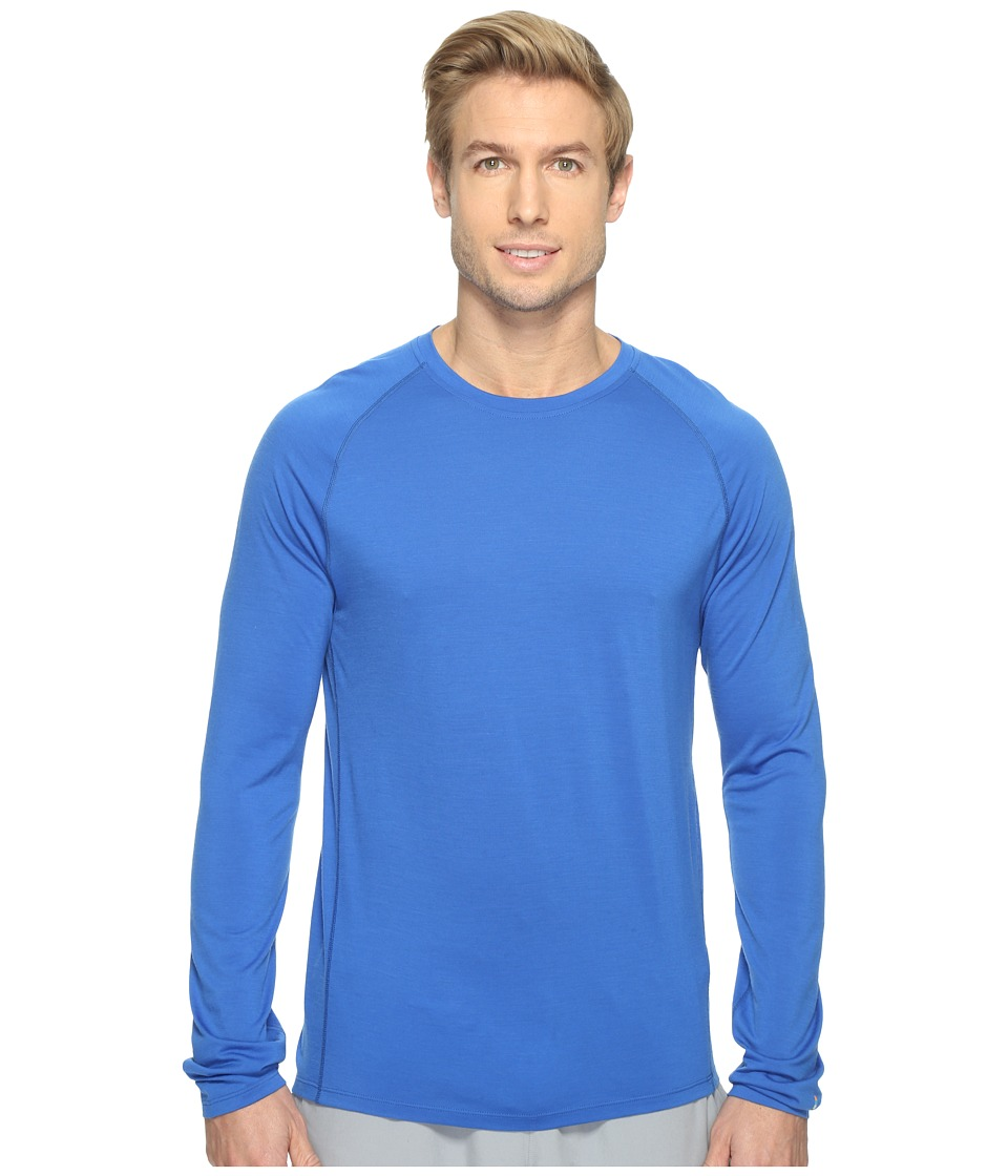 Smartwool Merino 150 Baselayer Long Sleeve (Bright Blue) Men