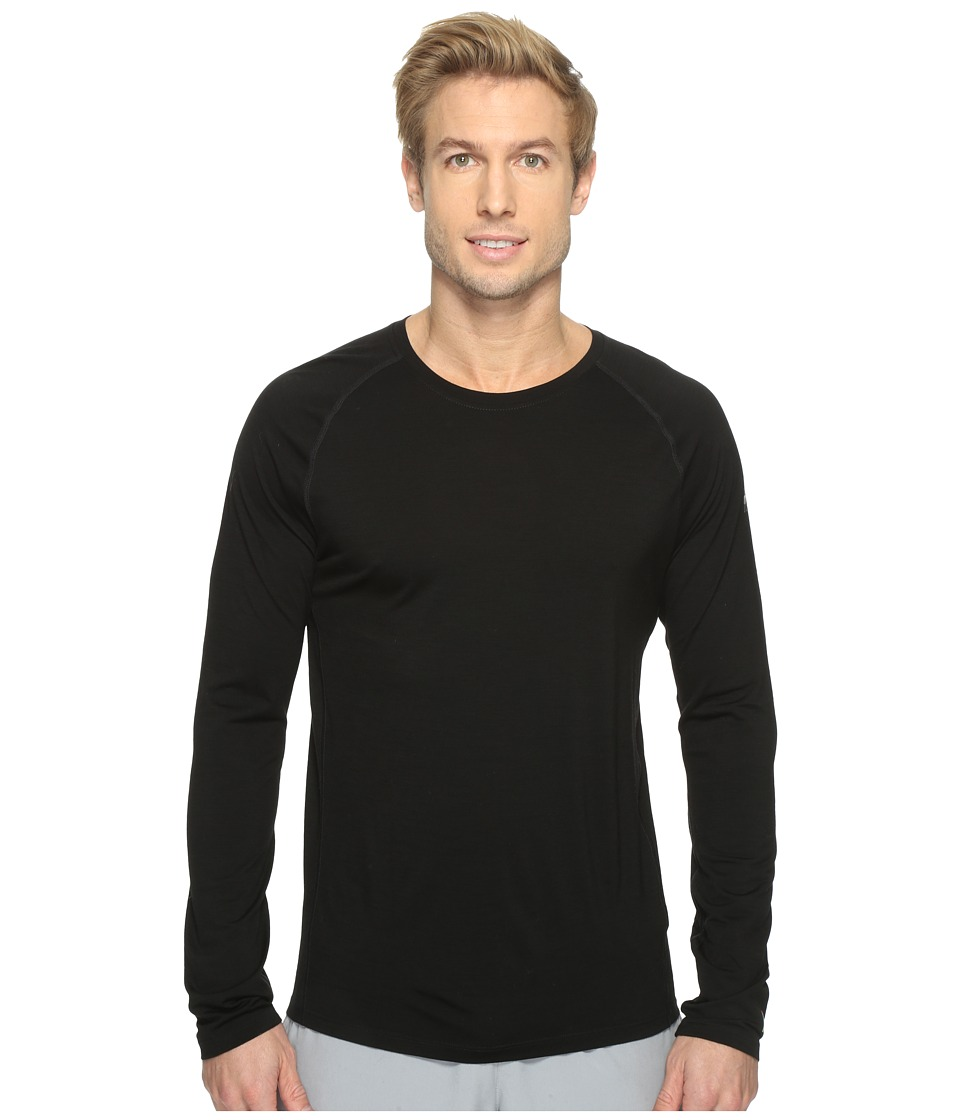 Smartwool Merino 150 Baselayer Long Sleeve (Black) Men