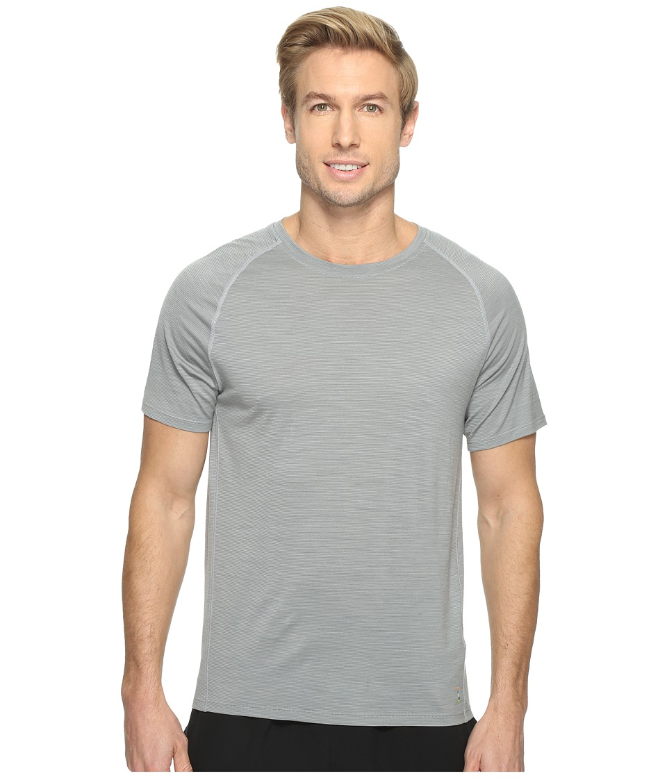 Smartwool Merino 150 Baselayer Pattern Short Sleeve (Light Gray) Men