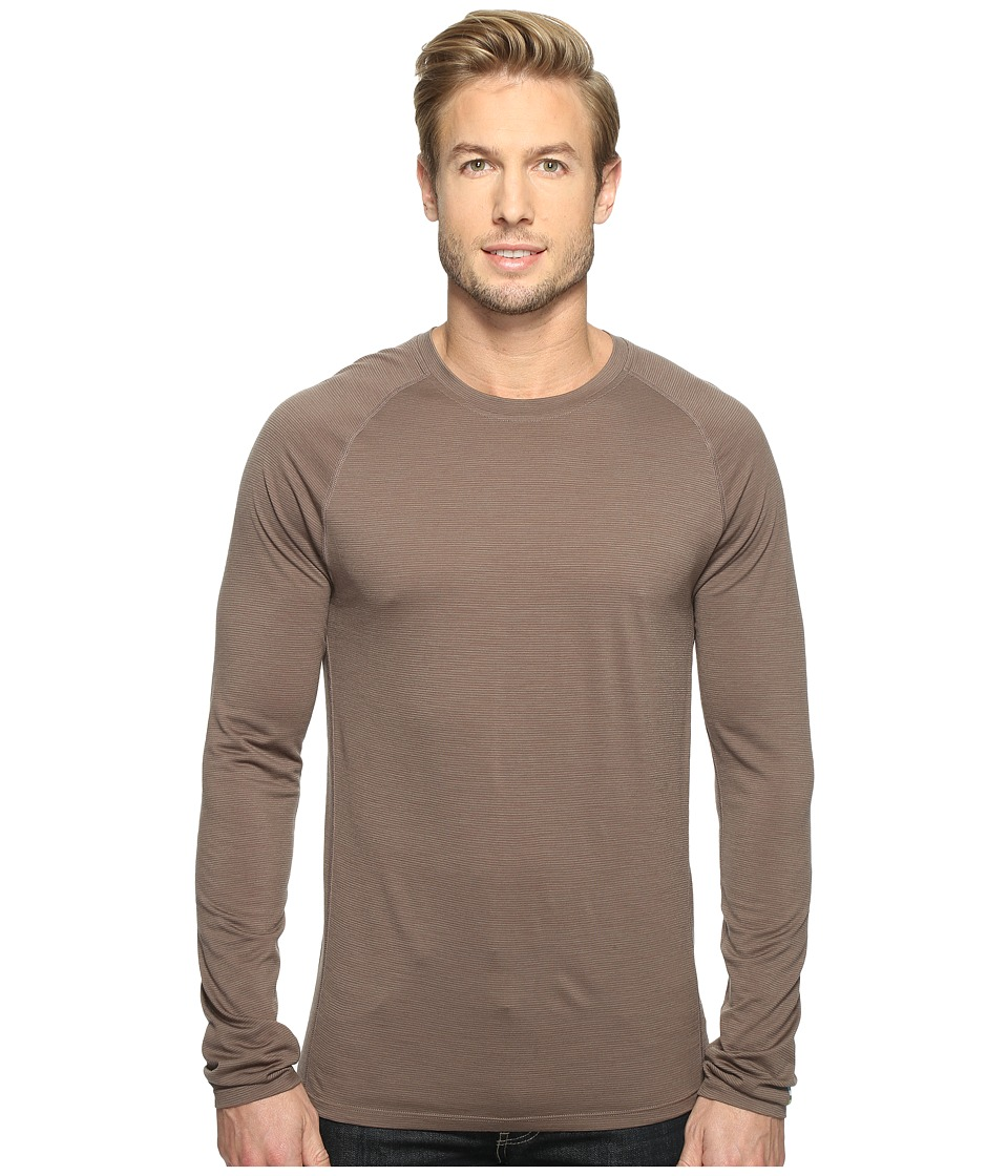 Smartwool Merino 150 Baselayer Pattern Long Sleeve (Taupe) Men