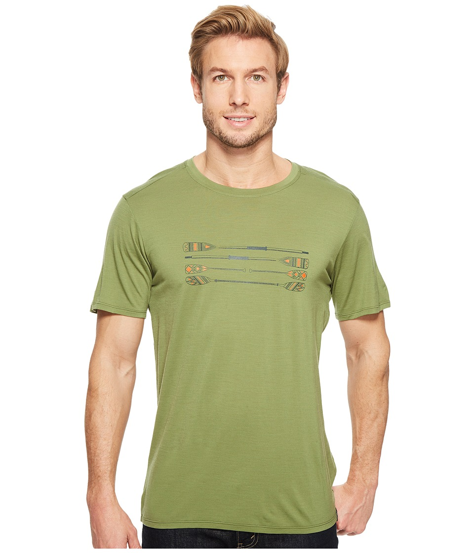 Smartwool Merino 150 Paddles and Oars Tee (Light Loden) Men