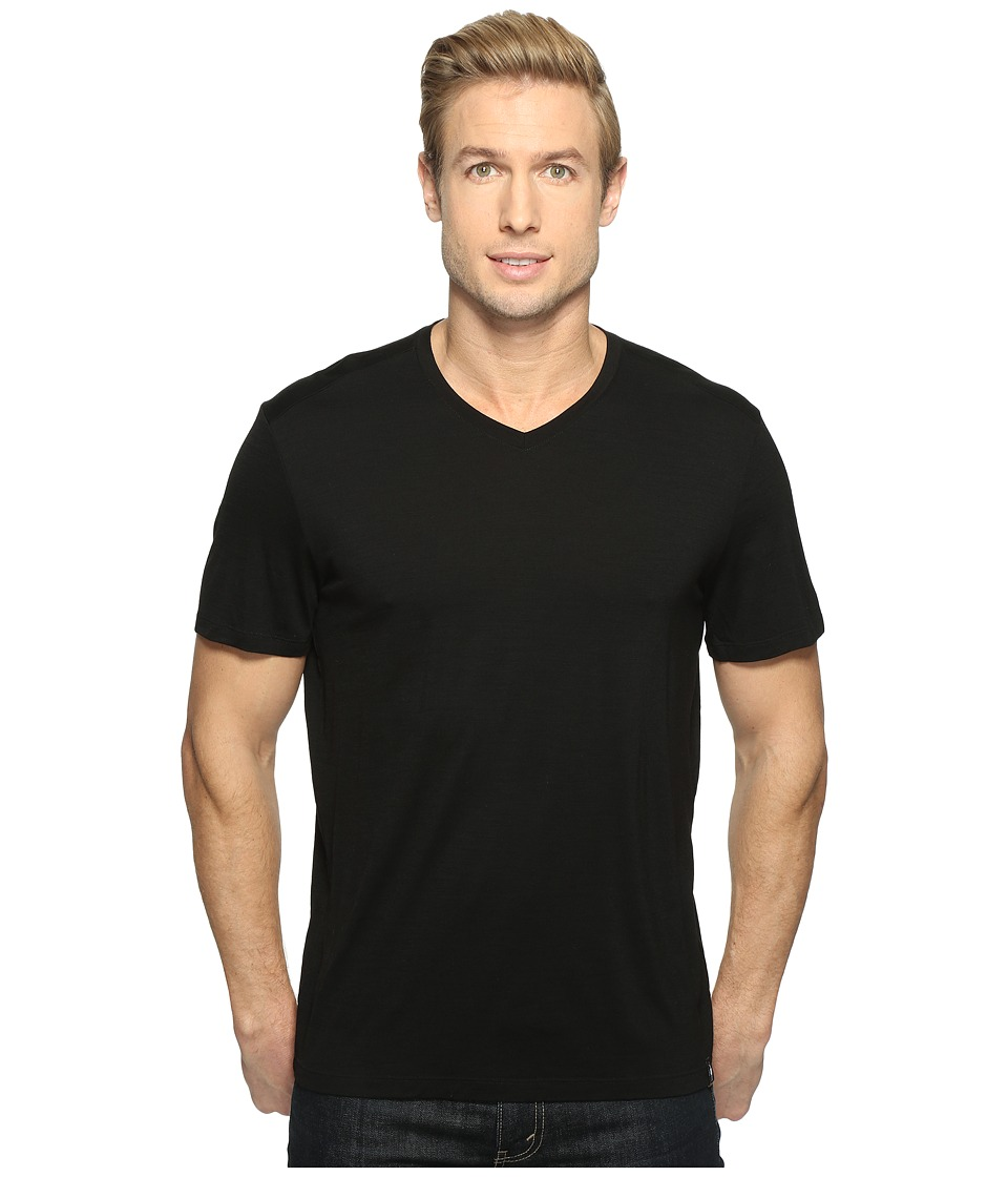 Smartwool Merino V-Neck (Black) Men