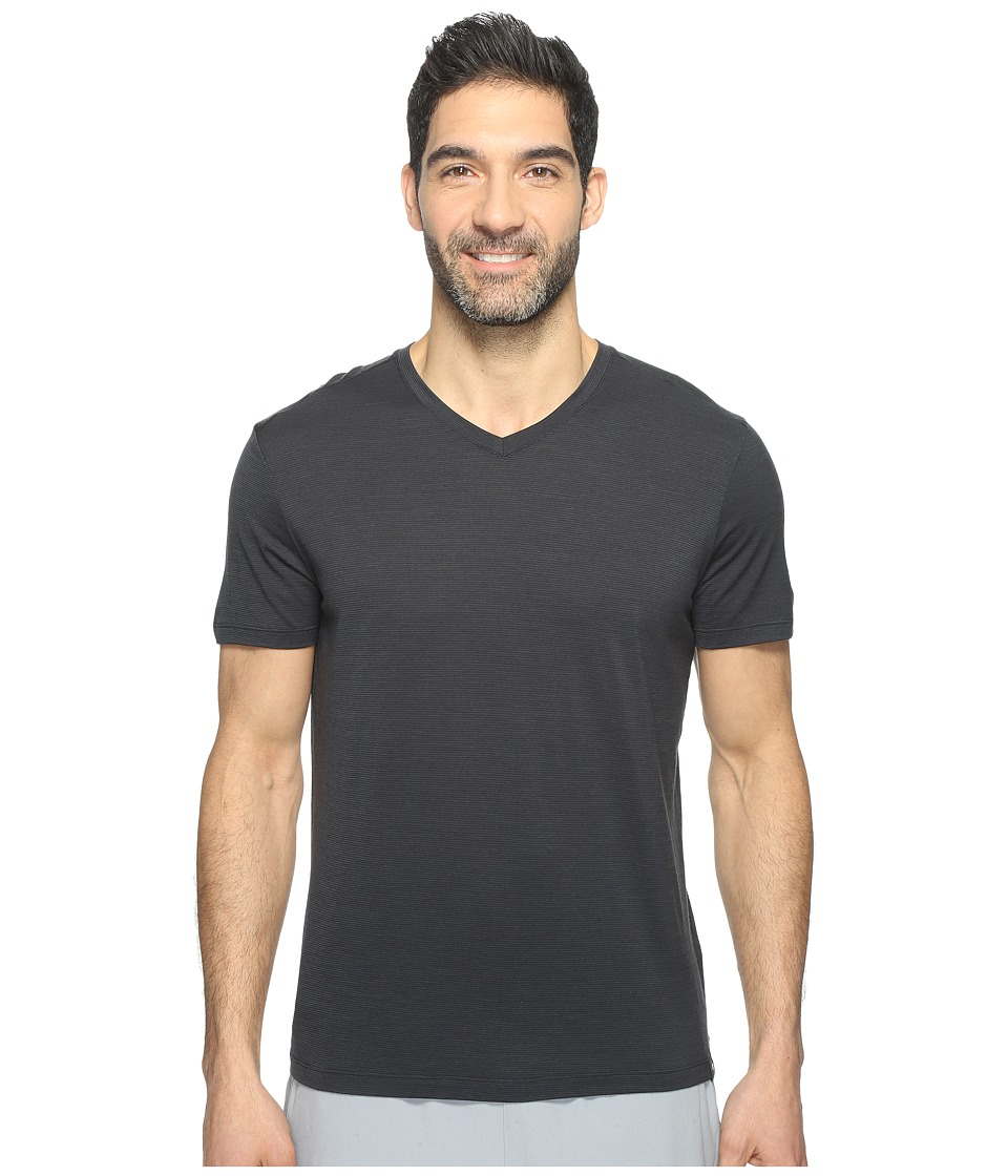 Smartwool Merino 150 Pattern V-Neck (Charcoal) Men