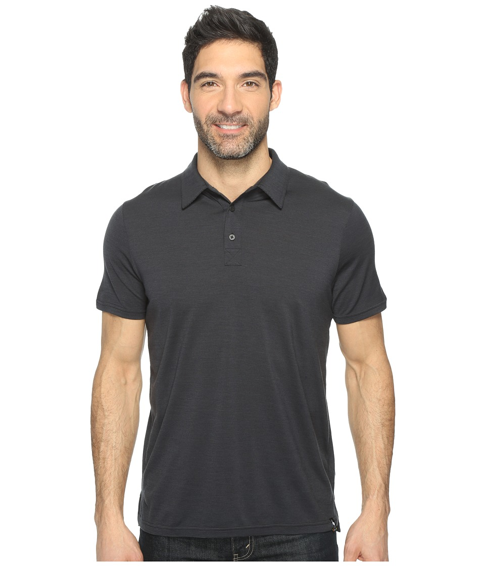 Smartwool Merino 150 Pattern Polo (Charcoal) Men