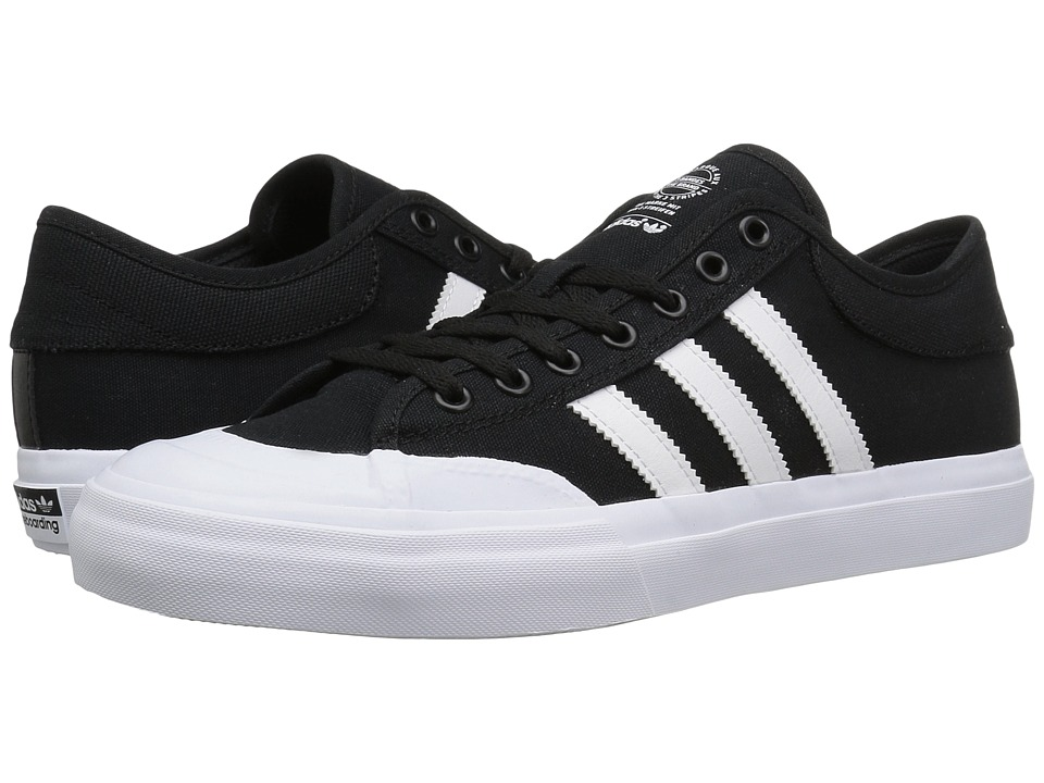 adidas Skateboarding - Matchcourt ADV (Black/White/Black) Skate Shoes