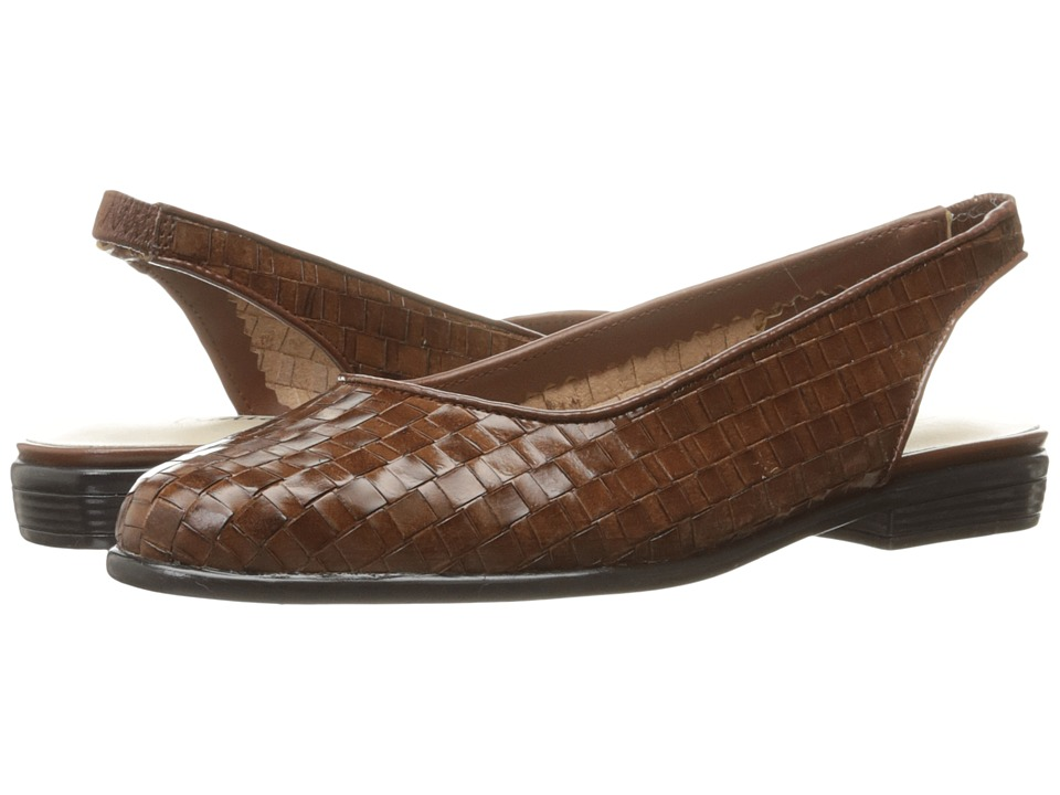 Trotters Lucy (Cognac) Women's Shoes