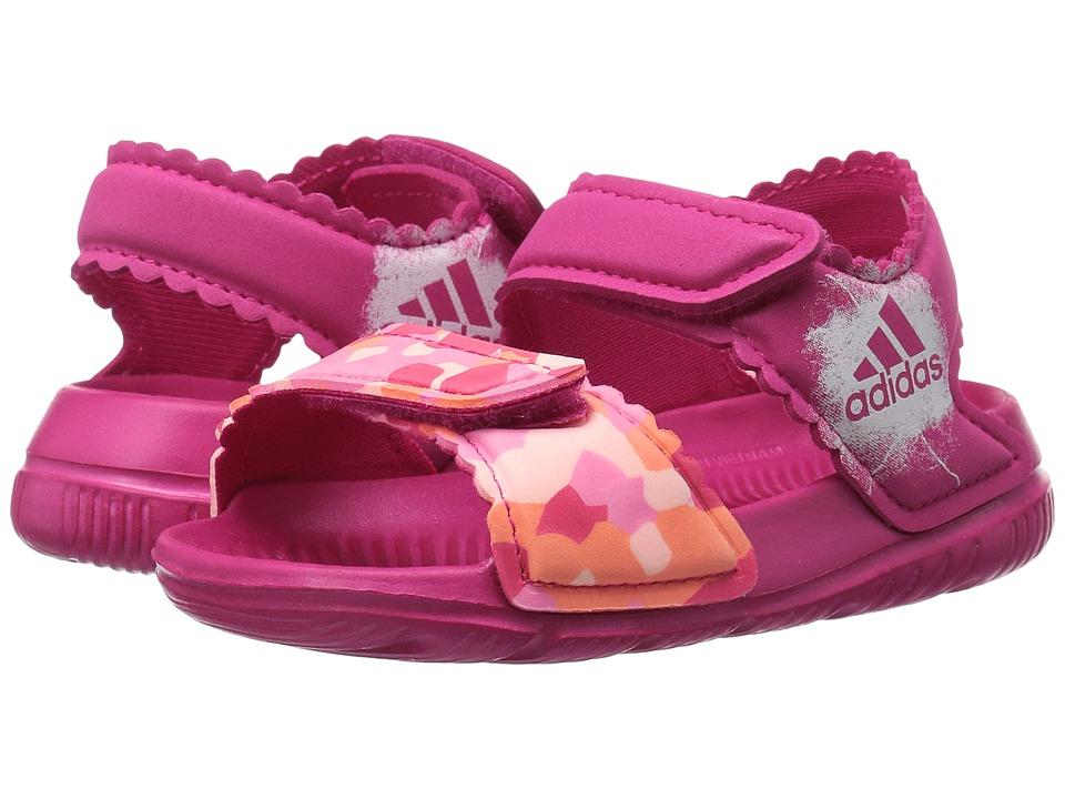 adidas Kids AltaSwim (Infant/Toddler) (Bold Pink/Haze Coral/Easy Pink) Girls Shoes
