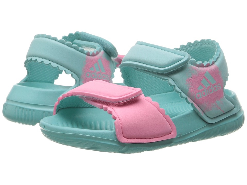 adidas Kids AltaSwim (Infant/Toddler) (Easy Mint/Easy Pink/Easy Pink) Girls Shoes