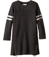 C&C California Kids - Fleece Jersey Dress with Size Zip (Little Kids/Big Kids)