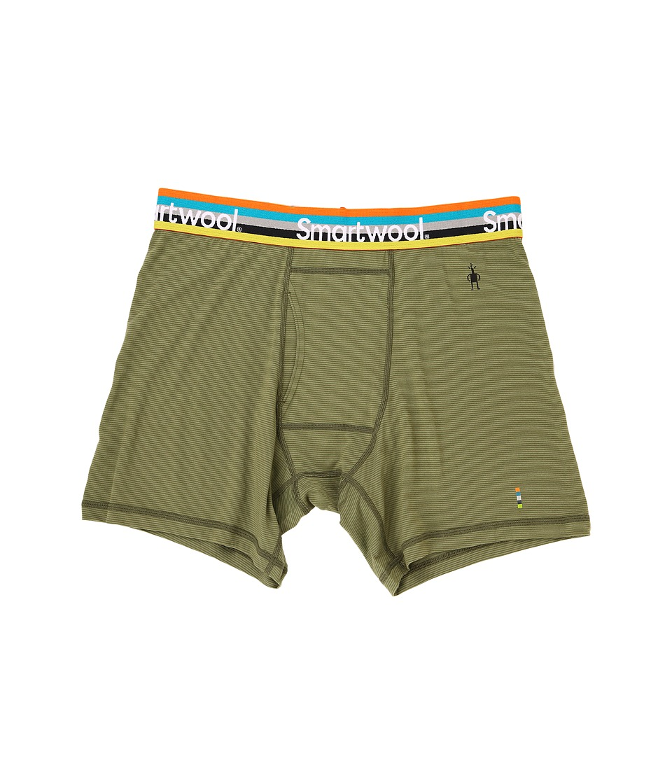 Smartwool Merino 150 Pattern Boxer Brief (Light Loden) Men